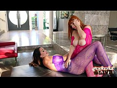 hottest big boobs lesbians alison tyler and penny pax