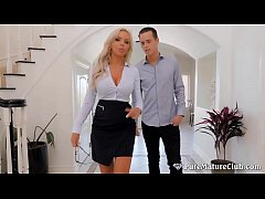 Big Titty Real Estate Agent Fucks Her Client