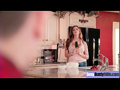 Hardcore Sex Scene With Busty Housewife (Ariella Ferrera) clip-05