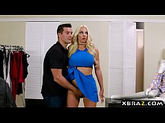 mannequin doll nicolette shea comes to life and fucks man
