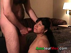 Rosa Gets a Nice Facial in Mexico DF by amateurmex.com