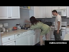 Naughty housewife Charlee Chase meets the plumber & fucks his brains out! Check her out live @ VNALive.com!