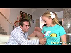 Husband and wife fuck the babysitter 116
