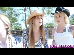 teen bffs go to a ranch to get fucked up and they do