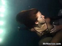 Amateur Girl Fucking Under The Water