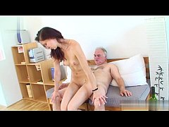 Glamour girl cum in mouth swallow