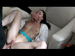 HOME ALONE TEEN GETS BRUTALLY ANAL FUCKED BY BURGLAR. MIA BANDINI