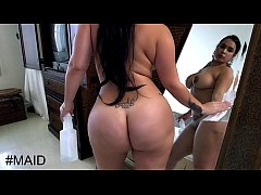 BANGBROS - Big Ass Cuban Maid Talked Into Giving It Up For More Money