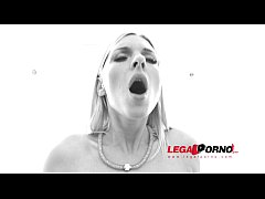 Jenna McCarthy 3on1 gangland style interracial anal & DP RS130