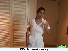 Sexy girl getting fucked for money 12