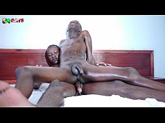 Horny Black African Loves Riding On Cock