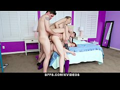 BFFS - Bestfriends Have A Cum Filled Pajama Party
