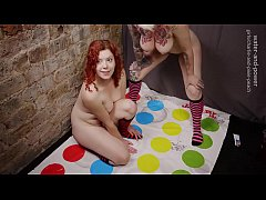Charlie and Pixie play enema twister 1 of 4