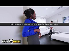 bangbros - ebony milf osa lovely shows her step son how to fuck right
