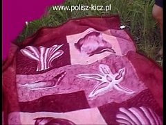 two polish girls picnic