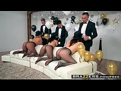 Clip sex Brazzers - Pornstars Like it Big -  Brazzers New Years Eve Party scene starring Chanel Preston, Kris