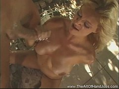 Blonde Brooke Harsh Handjob