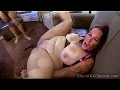 hotwife with tattoos gang banged while hubby s at home
