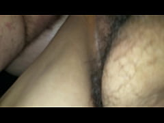 Fucking my wife doggystyle with a cock sleeve with real orgasm at end