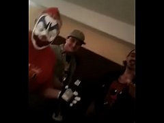 FlipFlop The Clown Having Size 12 Feet On His Face At The Dark Carnival Games Con 2018