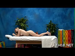 Massage with pleased endings