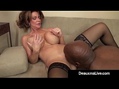 Milf Manager Deauxma Gets An Employee's BBC With A Big Bang!