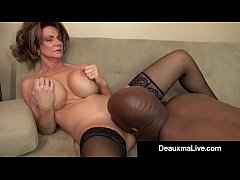 milf manager deauxma gets an employee s bbc with a big bang