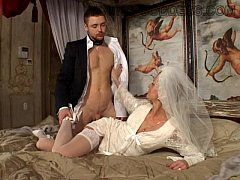 Young Goddess Just Married