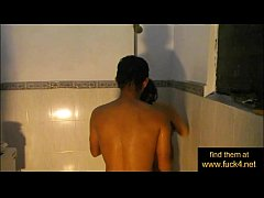 Indian amateur couple shower sex - www.fuck4.net