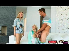 Angel Allwood and Dakota James hot 3way