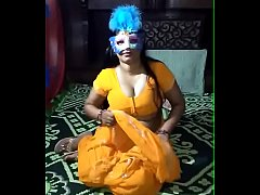 indian hot aunty show her nude body