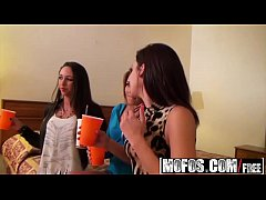 Mofos - Real Slut Party - Horny Highway Road Head starring McKenzie and Nikki Chase and Layla Luxx