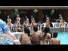 Clip sex Filipina girls from asiangirlslive.net in pool party and shower after for sex shows.