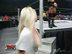 Kelly Kelly's Expose Striptease