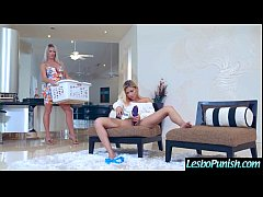 (Brooke Paige & Marsha May) Lez Girls In hard Punish Sex Tape Using Sex Toys clip-04