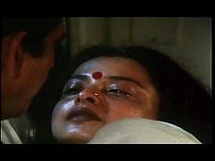 Hot Romantic scene of  REKHA