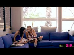 Bratty Sis - Sister And BFF Fall For Brothers Sex Games
