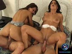 Fanny Bravo and Sexy Luna tried swinging partners in hardcore fuck