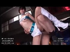very hot asian race queen gangbanged by two guys!