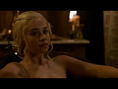 Emilia clarke Game of thrones nude scene season 3 episode 8