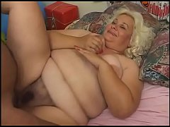 Bad Santa has a big gift for a chunky milf!