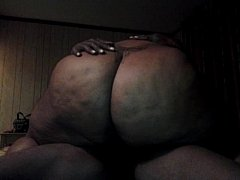 big thick juicy booty black girl riding my dick