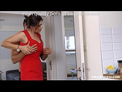 HD Cheating brunette MILF is fucked in the morning by her lover