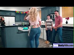 Hardcore Sex Scene With Busty Housewife (Ryan Conner) clip-23