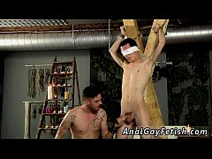 Gay bondage twink capture Ultra Sensitive Cut Cock