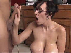 Play MP4 - Alia Janine Tit Fuck Those Huge Breasts