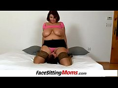 CFNM cunnilingus with big tits MILF Eva