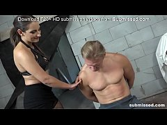 The best combination of a horny mistress and an obedient boy