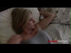 Sleeping mom and pervert son - FREE Mom Videos at NaughtyFam.com