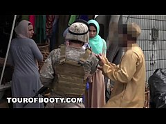 tour of booty - operation pussy run with soldiers in the middle east